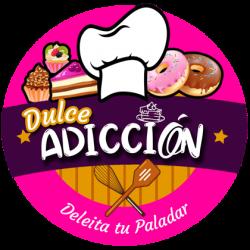 Diseño de logo dulce adicción